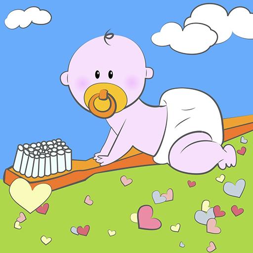 Ventidenti Igiene dentale 0-3 LOGO-APP點子