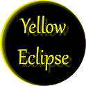 Yellow Eclipse Launcher Theme icon