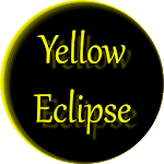 Yellow Eclipse Launcher Theme v1.0