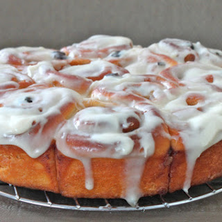 Best Ever Ever EVER Cinnamon Rolls with Cream Cheese Icing.