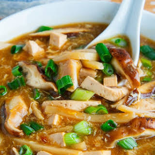Quick and Easy Chinese Hot and Sour Soup.