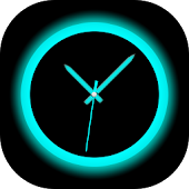 Neon Clock HD Live Wallpaper