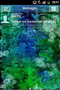 GO SMS PRO Theme After Rain- screenshot thumbnail