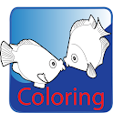 Coloriage: Coloriage poisson icon