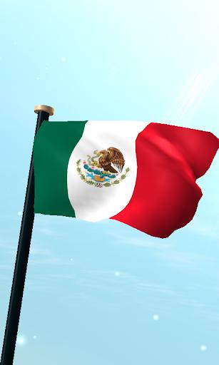 Mexico Flag 3D Live Wallpaper