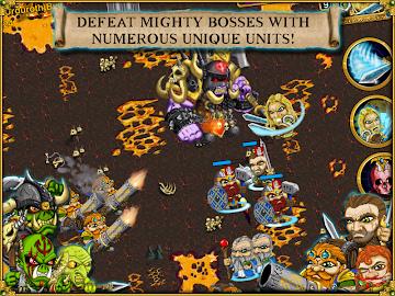 Warlords RTS: Strategy Game Screenshot 10