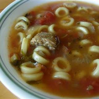 Jackie's Sausage Soup