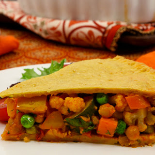 Moroccan Vegetable Pie with Chickpea Crust CBC Best Recipes Ever.