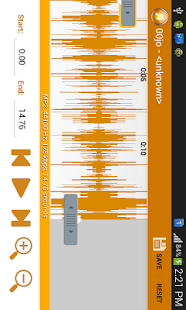 Mp3 cutter Ringtone Maker- screenshot thumbnail