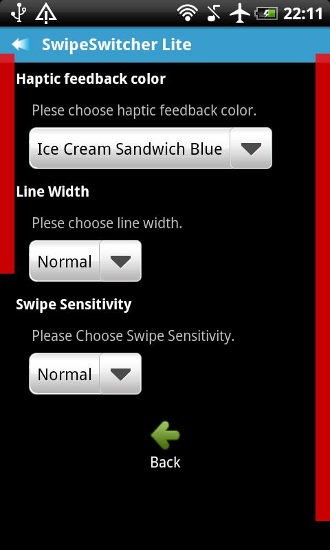 SwipeSwitcher Lite - screenshot