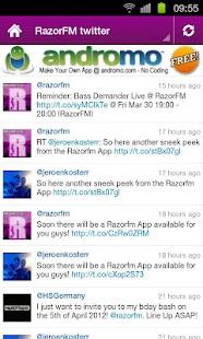 RazorFM Hardstyle Radio App- screenshot thumbnail