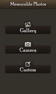 Memorable Photo Editor screenshot
