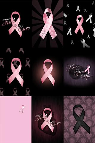 【免費生活App】Pink Ribbon Wallpaper!-APP點子