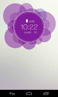 Ubu Clock for Zooper Widget- screenshot thumbnail