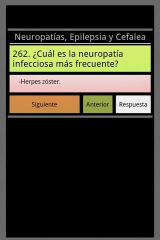 【免費醫療App】Neurologia en preguntas cortas-APP點子