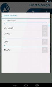 Silent Manager white-list call v2.1.2