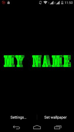 My Name 3D Live Wallpaper 13 Screenshot 603834
