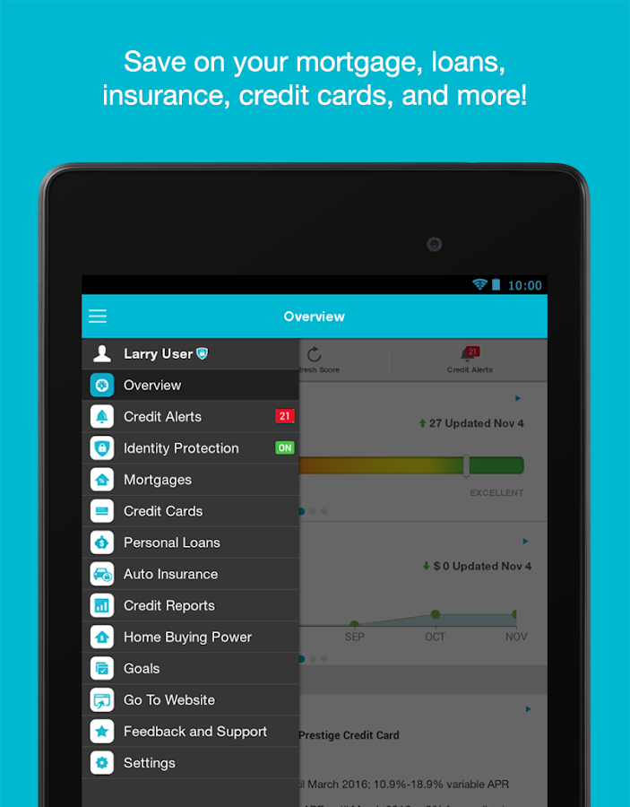 Credit Sesame – Screenshot