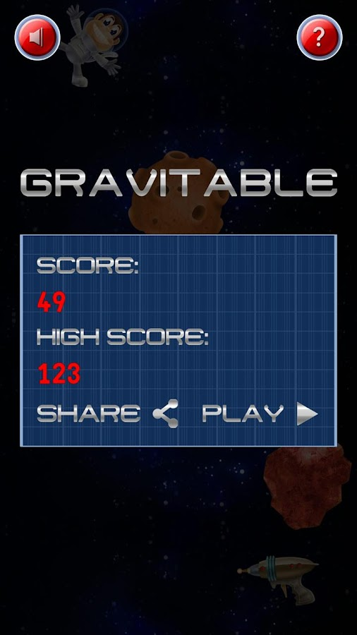 Gravitable - screenshot