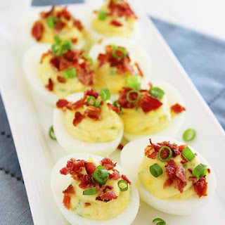 Bacon-Jalapeno Deviled Eggs
