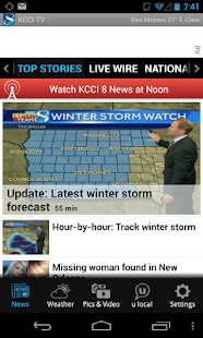 KCCI 8 TV - news and weather - screenshot thumbnail