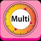 temporizador múltiples. icon