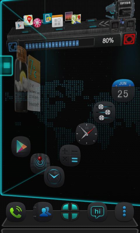 Thank Next Launcher Theme- screenshot