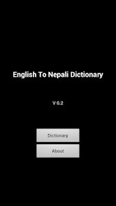 English Nepali Dictionary screenshot 0