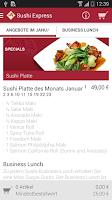 Screenshot of Sushi Express