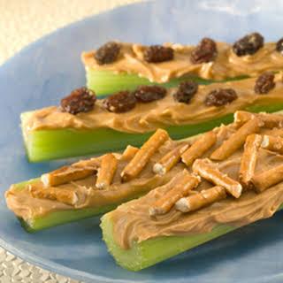 Peanut Butter Celery Sticks.