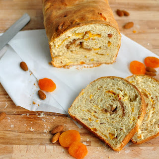 Apricot Almond Bread.