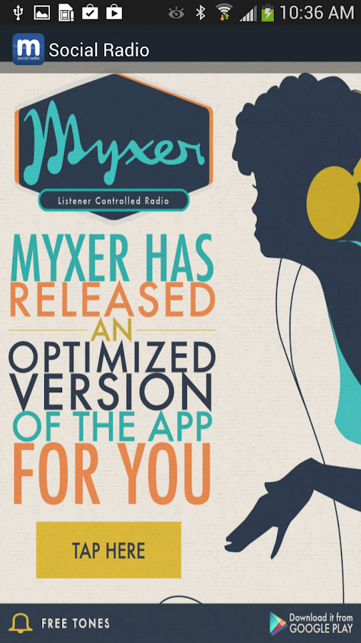 Myxer Social Radio - screenshot