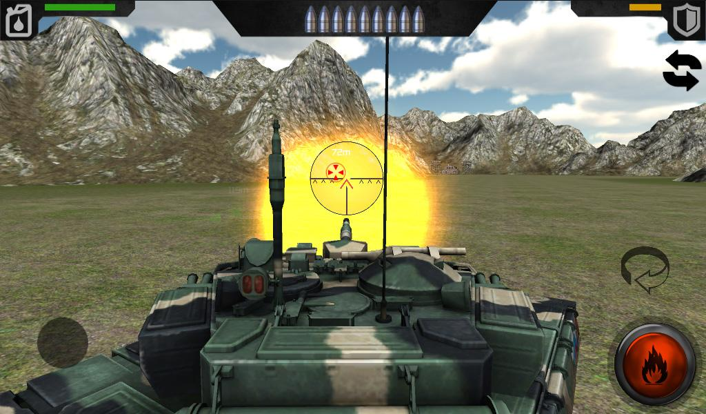 Tank Warfare 3D- screenshot
