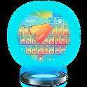 Temas de teclado de color icon