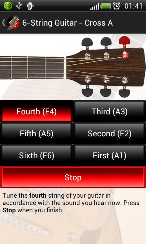tune your guitar free android apps on google play. Black Bedroom Furniture Sets. Home Design Ideas