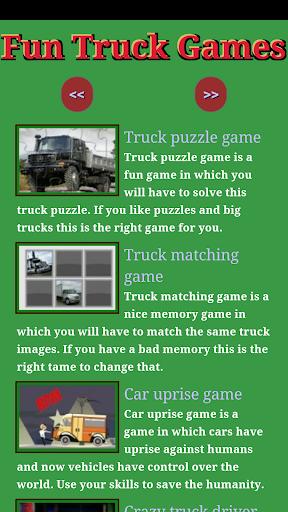 Fun Truck games