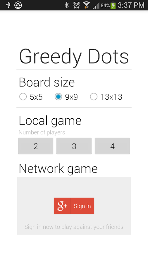 Greedy Dots- screenshot