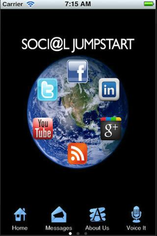 Social Jumpstart - screenshot