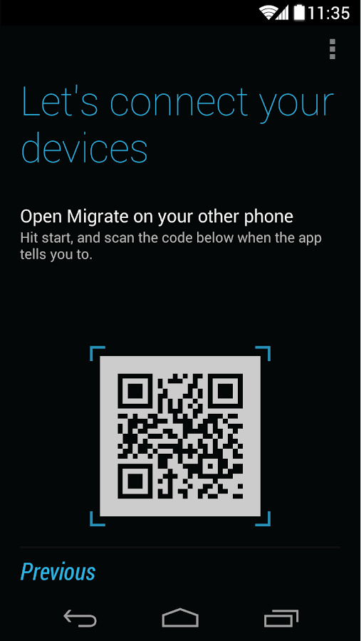 Motorola Migrate - screenshot