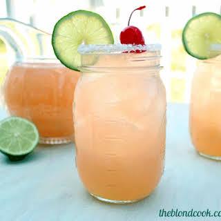 Cherry Beer Margaritas.