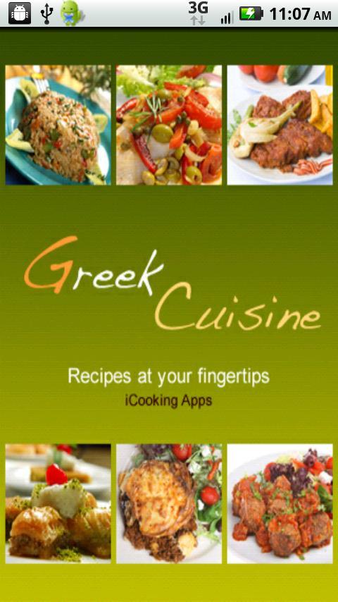 iCooking Greek - screenshot