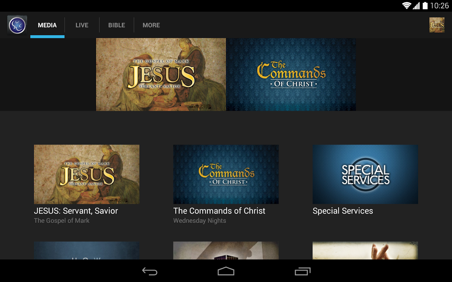 Calvary Chapel Oceanside- screenshot