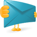 Backup message & call to Email logo