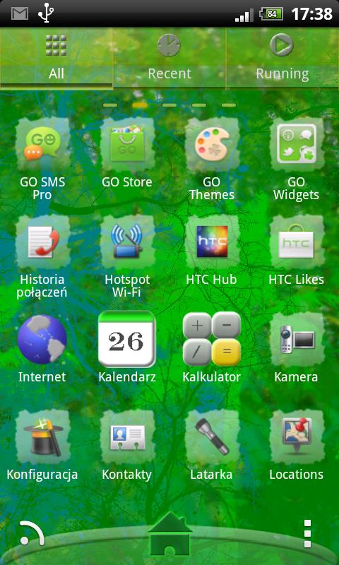 Go Launcher EX Theme Elf - screenshot