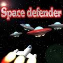 Space defender. icon