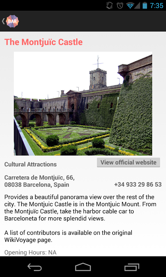 Holidayen Barcelona - screenshot