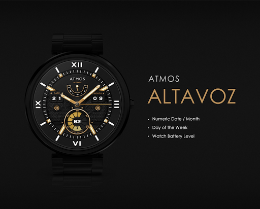 Altavoz watchface by Atmos