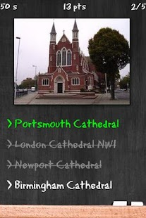 Cathedral Quiz - screenshot thumbnail