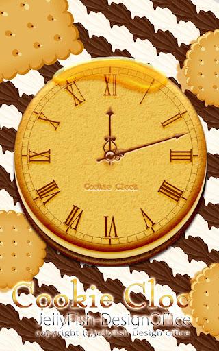 クッキーアナログ時計ウィジェット