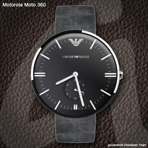 Armani Android Wear WatchFace